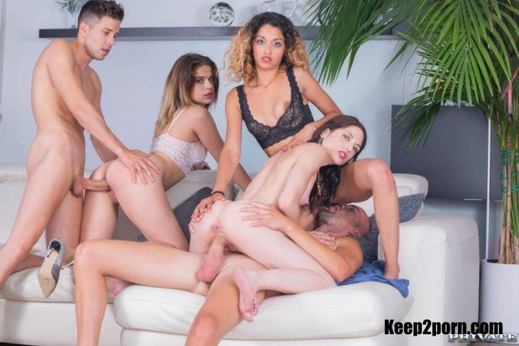 Alice Fabre, Rachel Adjani, Scarlet, Scarlet Domingo - College Girl Orgy With BCN [TightAndTeen, Private / SD / 360p]