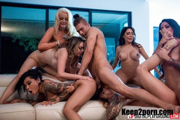 Nicolette Shea, Quinn Wilde, Honey Gold, Karmen Karma, Kissa Sins, Lela Star - Greedy Bitches [HD] - DigitalPlayground