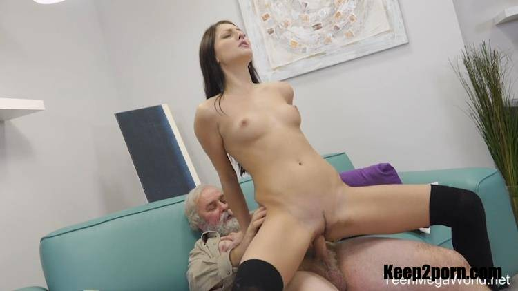 Katy Rose - Uneven-aged doggy orgasm [Old-n-Young, TeenMegaWorld / SD / 480p]