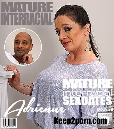 Adrienne Kiss - Horny Housewife Adrienne Goes Interracial [Mature.nl, Mature.eu / FullHD / 1080p]
