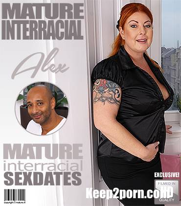 Alex (42) - Big breasted housewife Alex goes interracial [Mature.nl, Mature.eu / FullHD / 1080p]