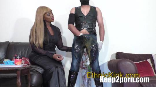Mistress Ava Black - Mistress Puts Food In Your Pants [EthnicKink / HD / 720p]