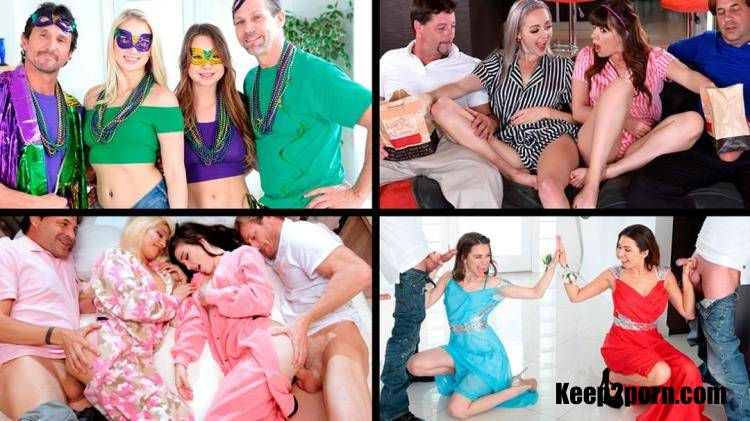 Alison Rey, Dolly Leigh, Joseline Kelly, Riley Reid, etc - Hot Daughter Swapping Fuck Compilation [TeamSkeet, TeamSkeetSelect / HD / 720p]