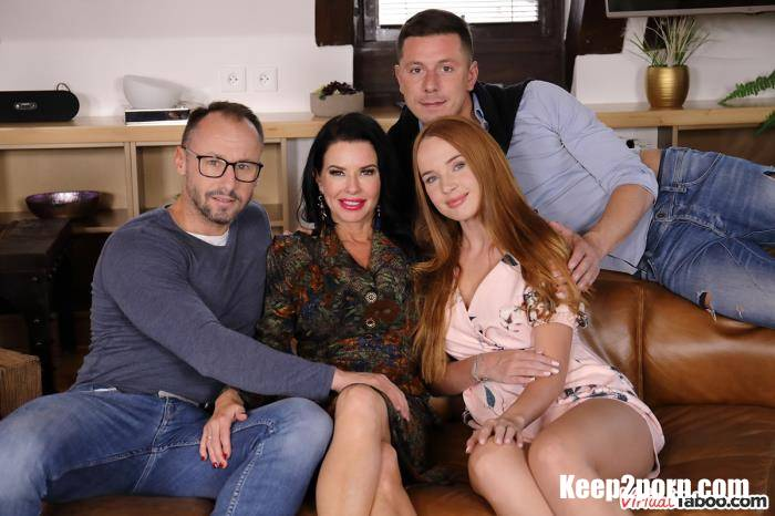 Kaisa Nord, Veronica Avluv - Our Family Rules: First Cum, First Served [VirtualTaboo / UltraHD 2K / 1440p / VR]