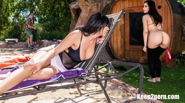 Aria Lee, Becky Bandini - Backyard Beauties [RealityKings, MomsBangTeens / HD / 720p]