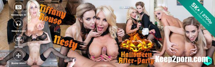 Nesty, Tiffany Rouso - Czech VR 314 - Halloween After-Party [CzechVR / UltraHD 2K / 1920p / VR]