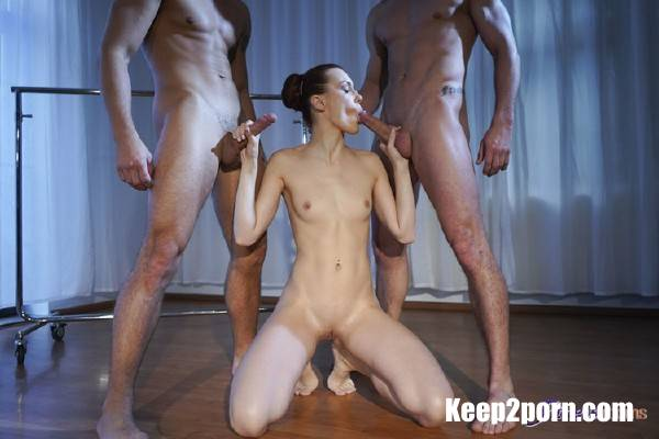 Jason X, Max Dyor, Charlie Red - Ballet teacher threesome with hunks [HD] - FitnessRooms