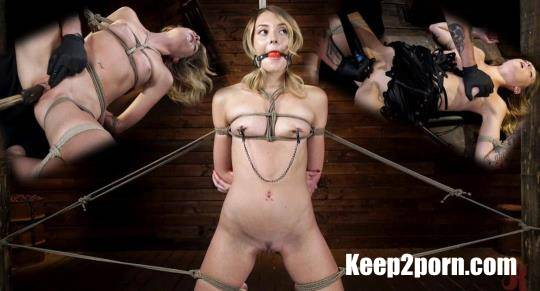 Charlotte Sins - Charlotte Sins: Tall Blonde Beauty Makes Her Debut [Hogtied, Kink / HD / 720p]