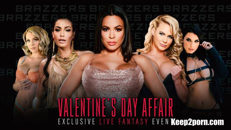 Demi Sutra, Desiree Dulce, Emily Willis, Gabbie Carter, Ivy Lebelle, LaSirena69, Luna Star, Phoenix Marie, Valentina Nappi, Whitney Wright - Brazzers LIVE: Valentine's Day Affair [BrazzersLive, Brazzers / SD / 480p]