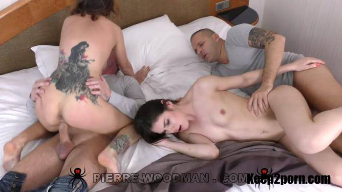 Camilla Moon, Jessica Bell - Hard - In bed with 2 men [FullHD 1080p] WoodmanCastingX