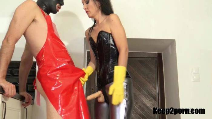 Fetish Liza - Rubber Glove Milking For A Fan Part 1 [GloveMansion / HD 720p]