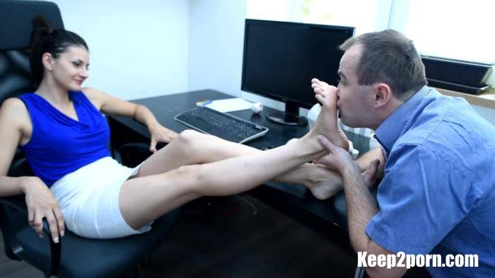 Lexi - Office Foot Fetish Seduction [CzechSoles / FullHD 1080p]