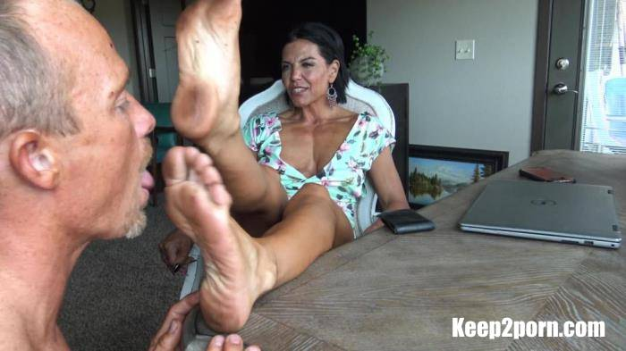 Foot Cuckys Favorite - Dirty Goddess Feet [GoddessZephy / FullHD 1080p]