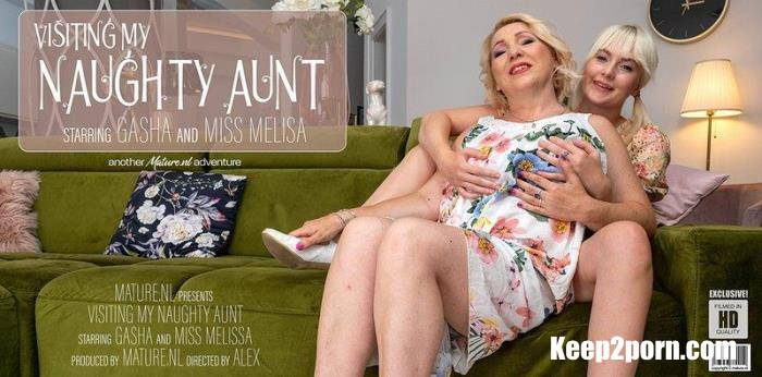 Gasha (45), Miss Melissa (21) - Aunt Gasha has a naughty evening with her niece Miss Melissa [SD 540p] Mature.nl