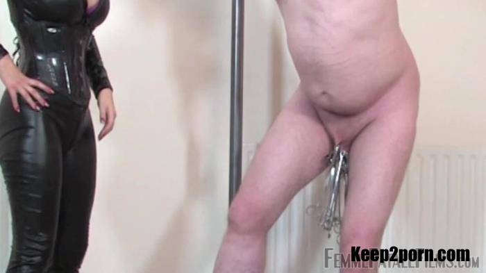 Mistress Vixen - Clamping To Extremes - Complete Film [FemmeFataleFilms / FullHD 1080p]