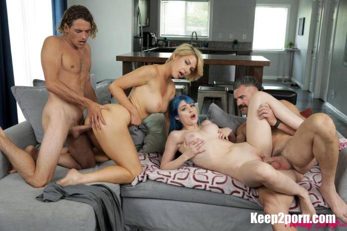 Jewelz Blu, Kit Mercer - Daddy Gives Gold Stars [FullHD 1080p] FamilySwap