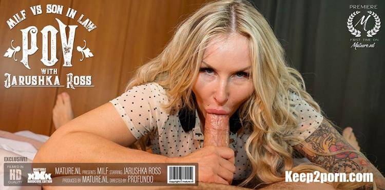Jarushka Ross (36) - Hot MILF sucking and fucking her son in law in POV style [Mature.nl / FullHD 1080p]