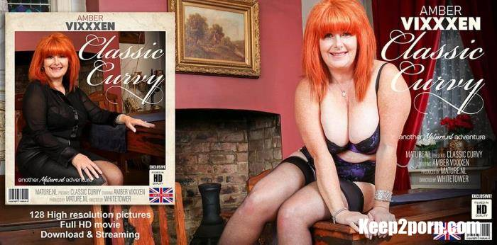 Amber Vixxxen (EU) (56) - Spend an evening with Curvy Classic Amber Vixxxen [FullHD 1080p] Mature.nl, Mature