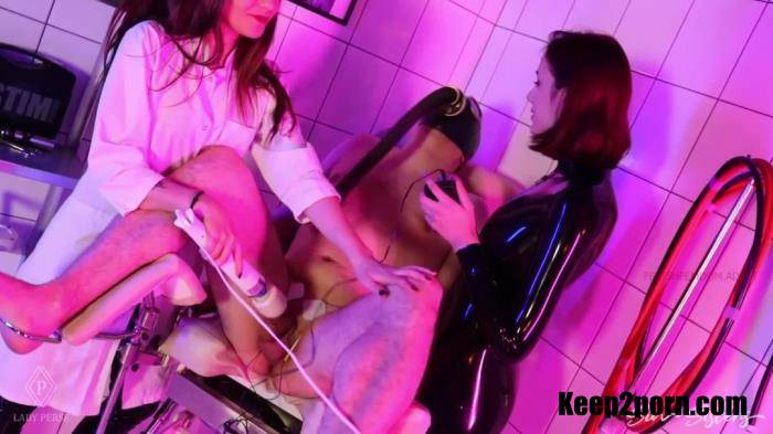 Lady Perse - Twice Coerced Ruined Orgasm During Mean Electro And Breathplay [SinSisters / FullHD 1080p]