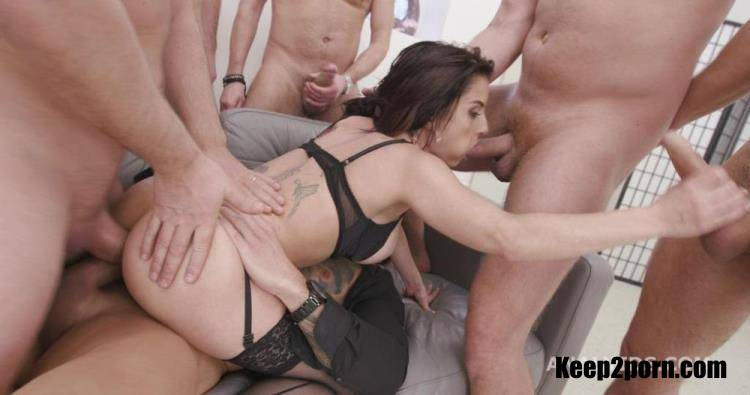 Bianka Blue - 7on1 Double Anal Gangbang goes wet with Bianka Blue, Balls Deep Anal, DAP, Pee Drink, Gapes and Swallow GIO1734 [LegalPorno, AnalVids / SD 480p]