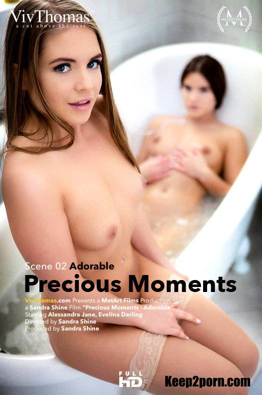 Alessandra Jane, Evelina Darling - Precious Moments Episode 2 - Adorable [VivThomas, MetArt / HD 720p]