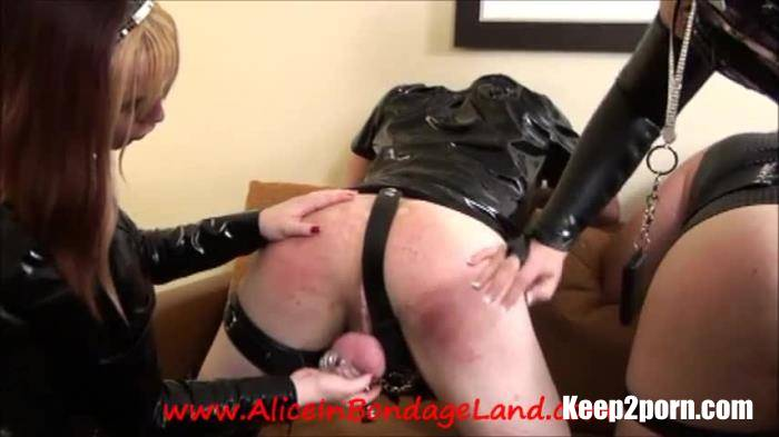 Alice In Threesome Land Femdom, Cbt Spanking Twins Pt 4 Double Chastity Boys Mistress Femdom [Clips4sale / SD 480p]